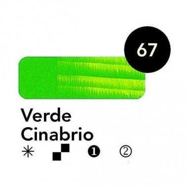 Titán Goya Verde Cinabrio nº 67, 20 cc.