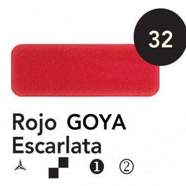 Titán Goya Rojo Escarlata nº 32, 60 cc.