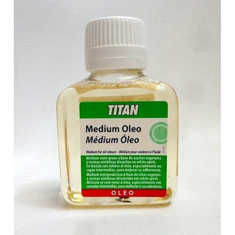 Medium Oleo Titan 100 ml.