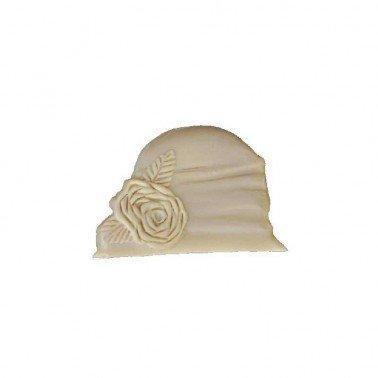 Mini Silueta Sombrero I, 9 x 6,1 cm