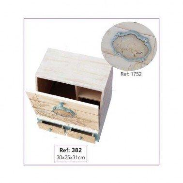 Mini Silueta Cartel II 10 x 7,6 cm