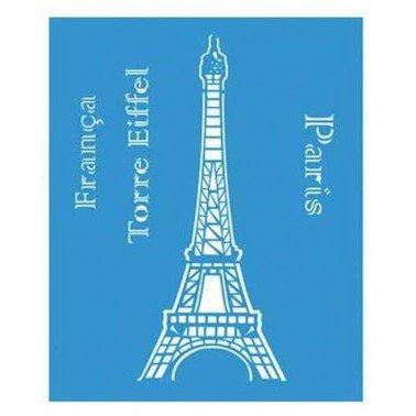 Stencil Paris 21,1 x 17,2 cm.