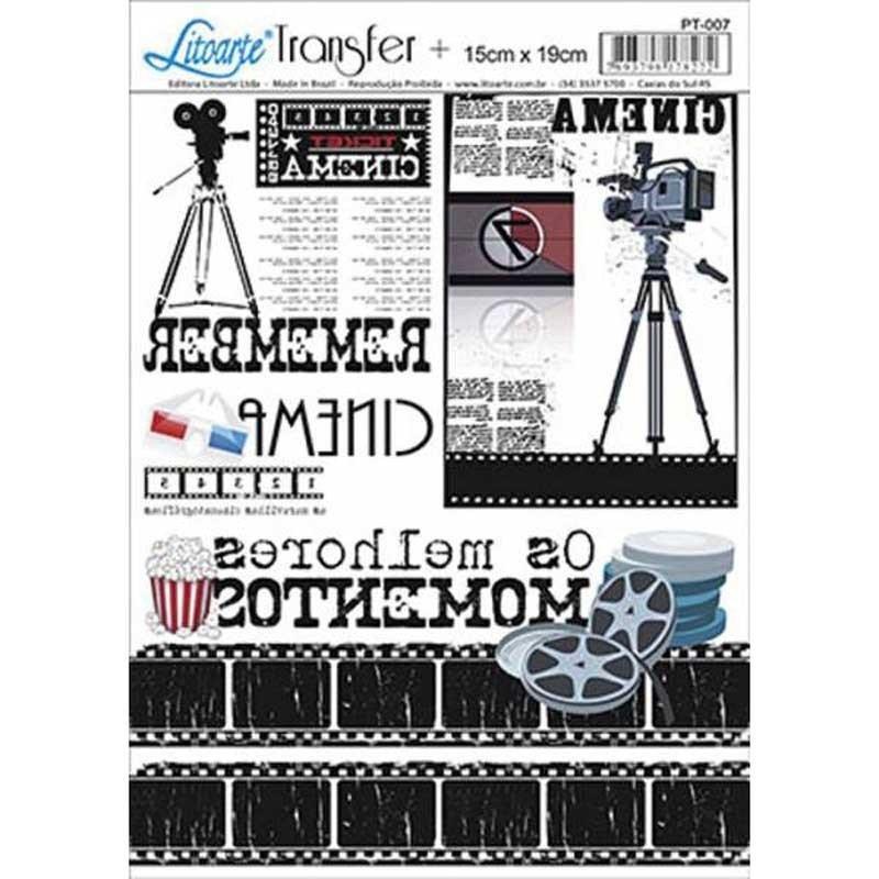 Papel transfer Cinema Artis Decor, 19 x 15 cm.