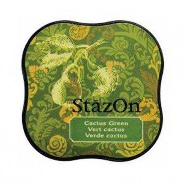 StazOn midi tampón Cactus Green.