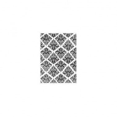 Sellos silicona flexibles A7, Artis Decor, Trama Barroc. 7,4 x 10,5 cm.