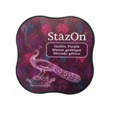 StazOn midi tampón Gothic Purple.