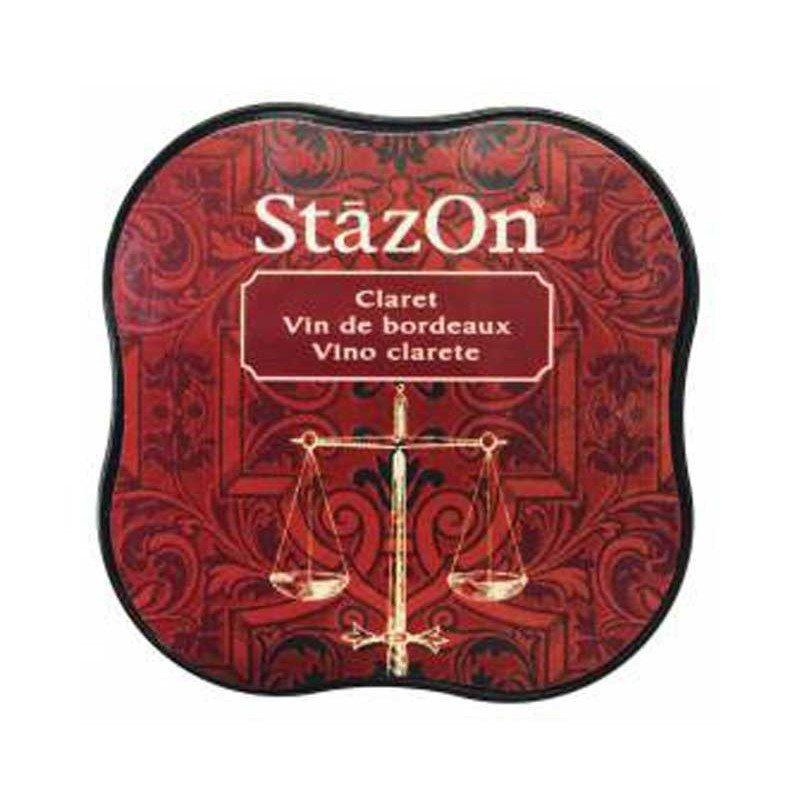 StazOn midi tampón Claret.