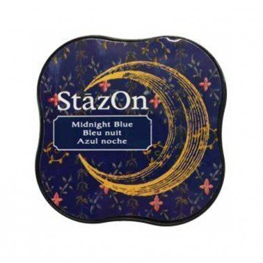 StazOn midi tampón Midnight Blue.