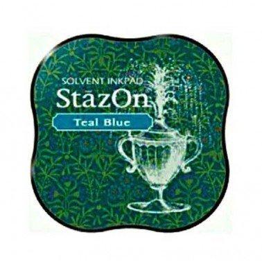 StazOn midi tampón Teal Blue.