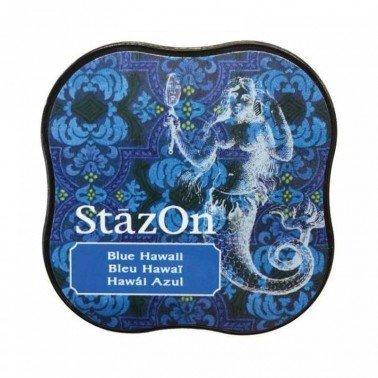 StazOn midi tampón Blue Hawaii.