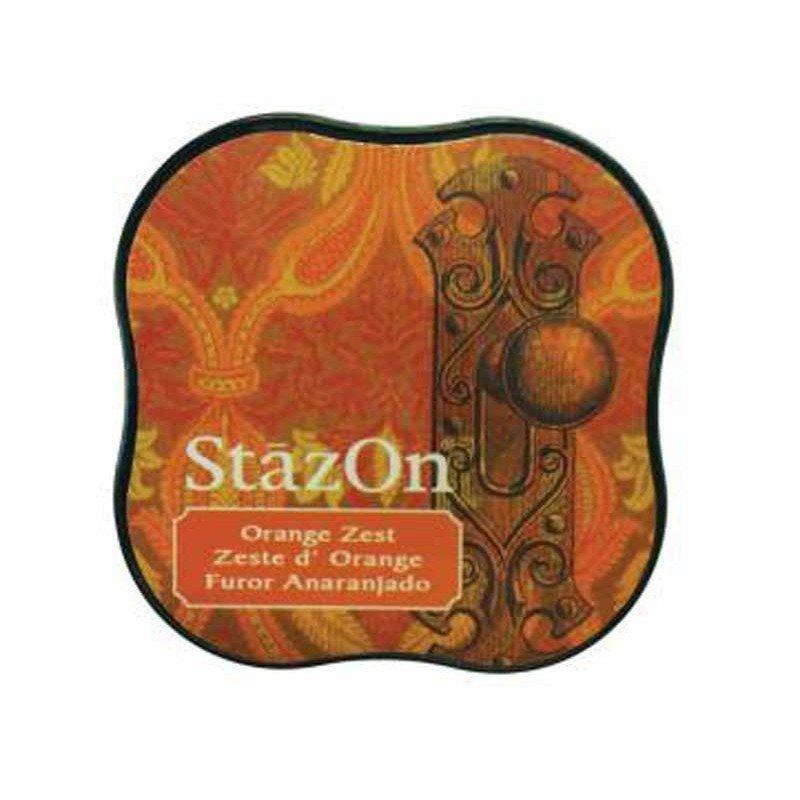 StazOn midi tampón Orange Zest.