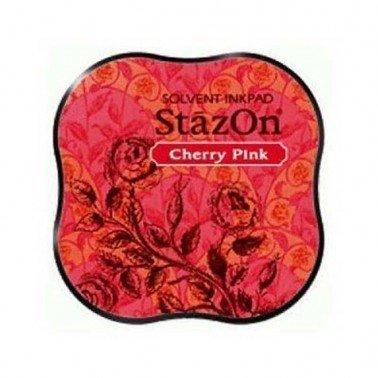 StazOn midi tampón Cherry Pink.