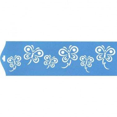 Stencil Mariposa 3, 28,5 x 8,4 cm.
