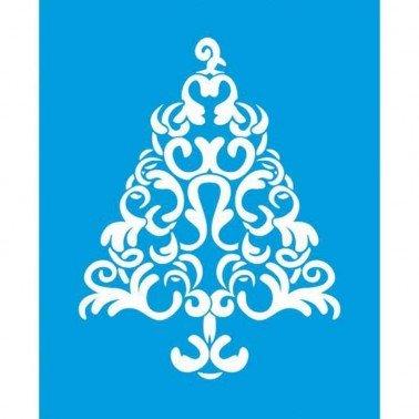 Stencil Arbol Navidad 21,1 x 17,2 cm.
