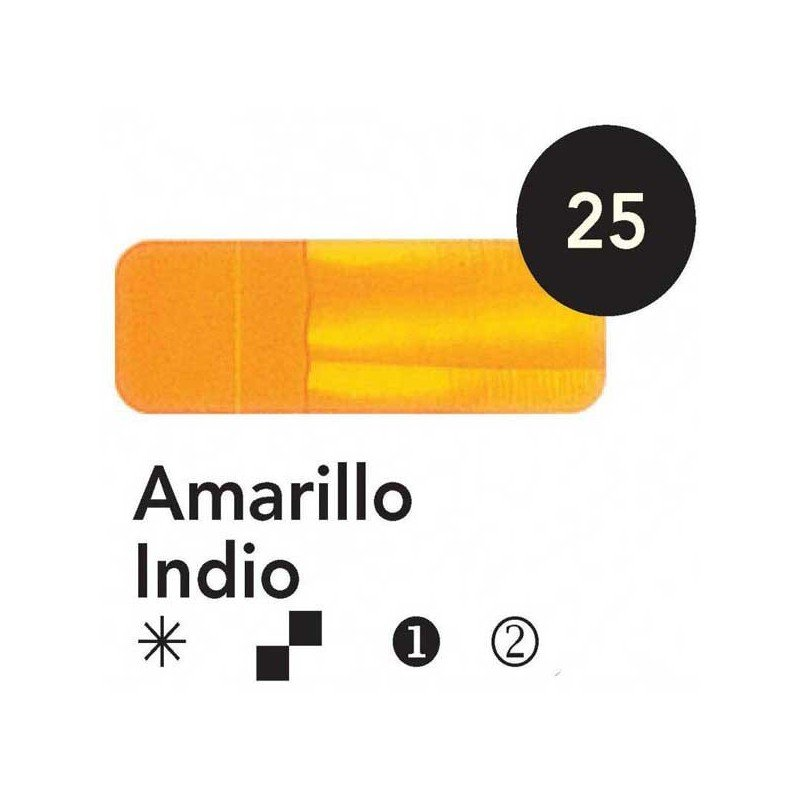 Titán Goya Amarillo Indio nº 25, 20 cc.