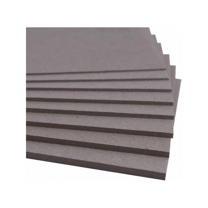 Cartón contracolado plancha 30 x 30 cm, grosor 1,5 cm.