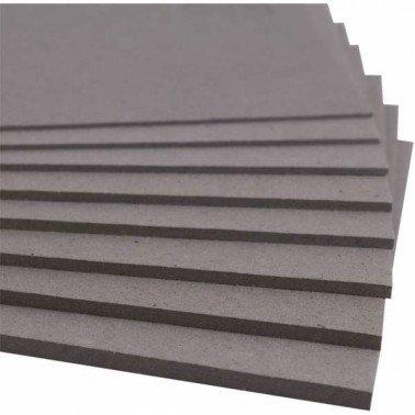 Cartón contracolado plancha 20 x 20 cm, grosor 1,5 cm.