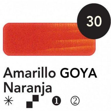 Titán Goya Amarillo Naranja nº 30, 20 cc.