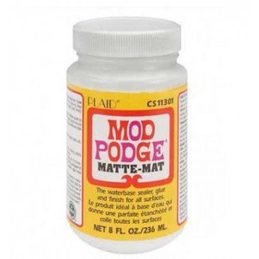 Mod podge 236 ml (acabado mate).