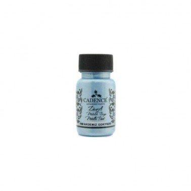 Pintura DORA METALLIC CIELO MEDITERRANEO CADENCE, 50 ml