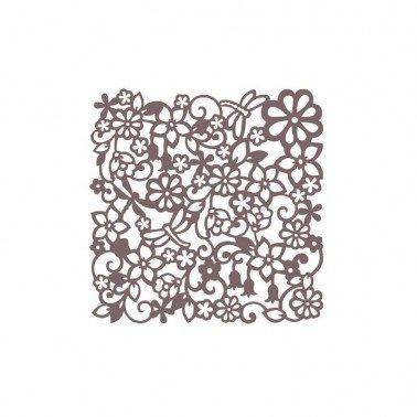 Stencil CADENCE KS FONDO FLORES 24 x 24 cm.