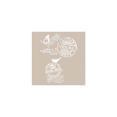 Stencil ROYAL MAIL CADENCE 21 x 30 cm.