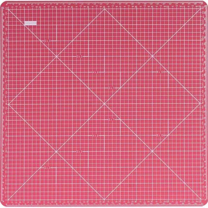 Plancha de corte Artis Decor 2 caras 33 x 33 cm.
