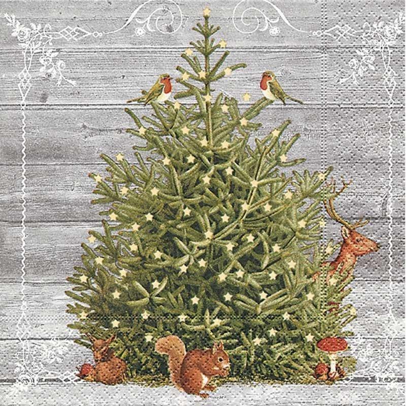Servilletas para decoupage A special tree 33 X 33 cm.