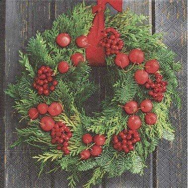 Servilletas para decoupage Door wreath 33 X 33 cm.