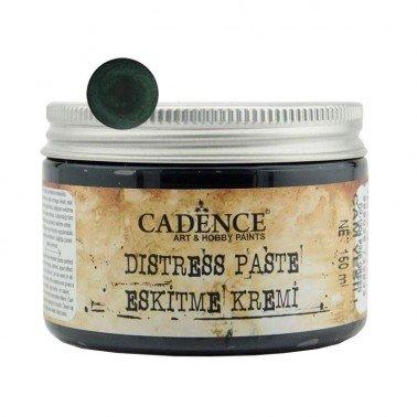 Distress Paste / Pasta Relieve Verde Pino CADENCE, 150 ml.