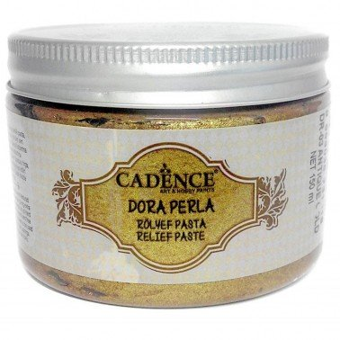 Pasta de relieve Oro CADENCE, 150 ml.
