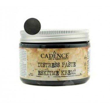 Distress Paste / Pasta Relieve Negro Hollín CADENCE, 150 ml.