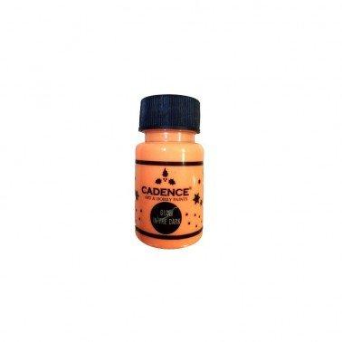 GLOW IN THE DARK Naranja CADENCE, 50 ml.