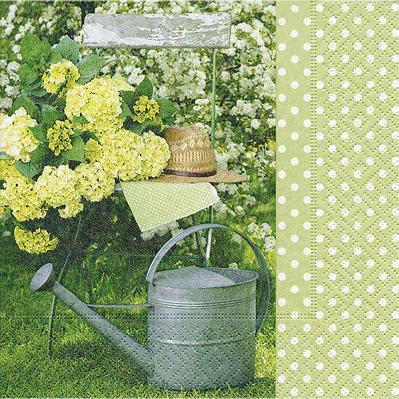 Servilletas para decoupage powerful garden 33 X 33 cm.
