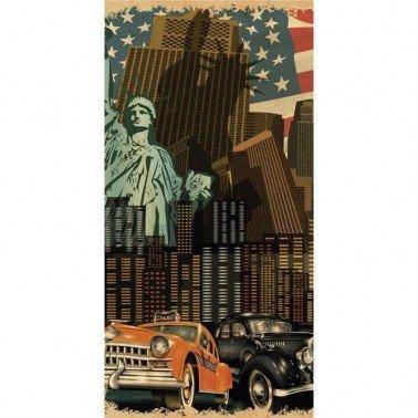 """Papel para sublimación """"NEW YORK"""" ARTIS DECOR 60 X 30 cm. (APROX.)"""
