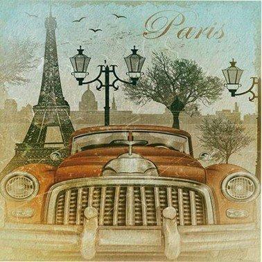 Papel para sublimación PARIS BY CAR ARTIS DECOR 30 X 30 cm. (APROX.)