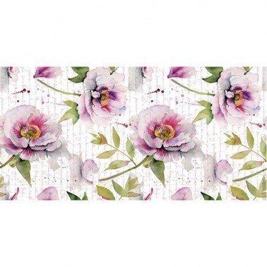 Papel para sublimación FLOWERS LETTER ARTIS DECOR 60 X 30 cm. (APROX.)