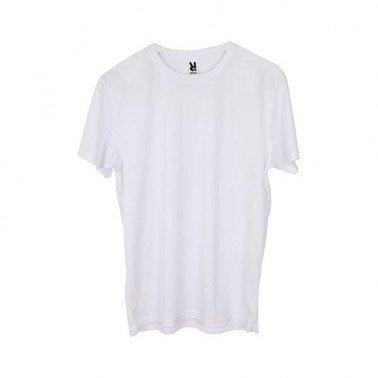 Camiseta Roly Camimera Blanca niño unisex para sublimación, Talla 4.