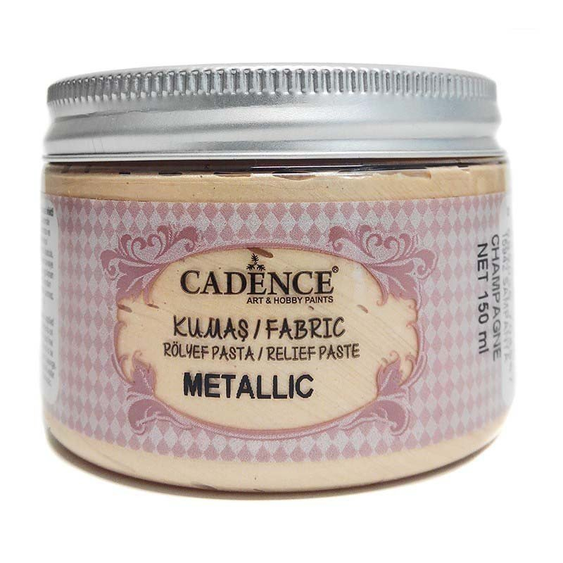 Pasta TELA Cadence METALLIC 150 ml Champán.