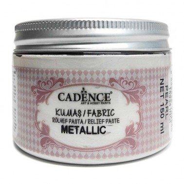 Pasta TELA Cadence METALLIC 150 ml Perla.