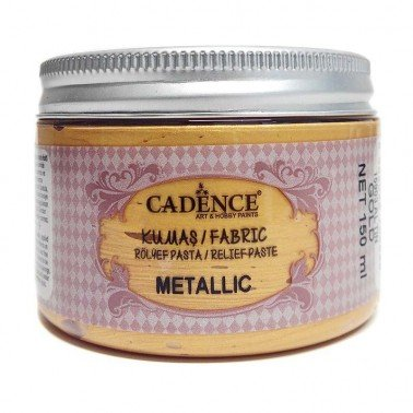 Pasta TELA Cadence METALLIC 150 ml Oro.