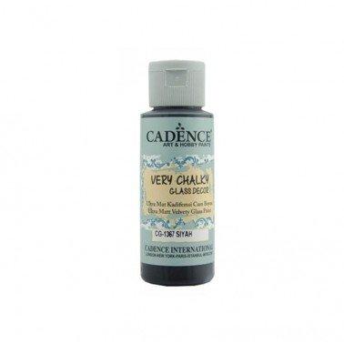 Pintura Chalky Cristal Cadence NEGRO 59 ml.