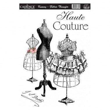 Transfer para TEJIDOS 25x35cm Haute Couture Cadence.