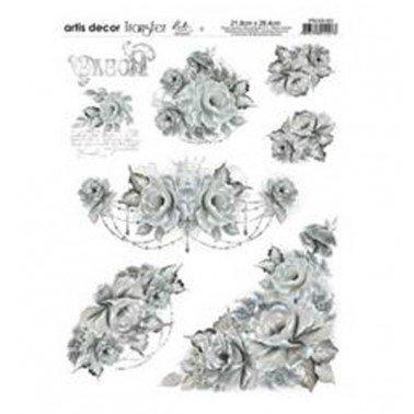 Papel transfer PTG1-021 Artis Decor, 28,4  x 21,8 cm.