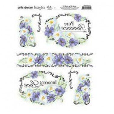 Papel transfer PTG1-017 Artis Decor, 28,4  x 21,8 cm.