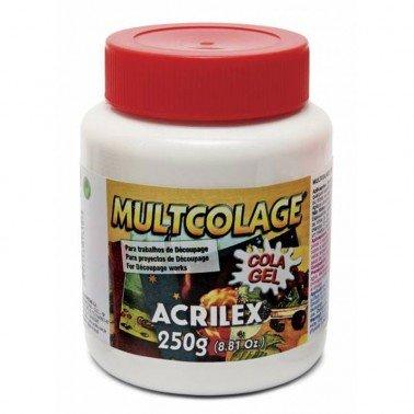 Gel adhesivo MULTICOLAGE ACRILEX 250gr.