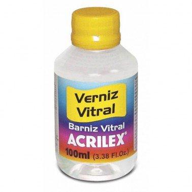 Barniz vitrail incoloro Nº500 Acrilex 100 ml.
