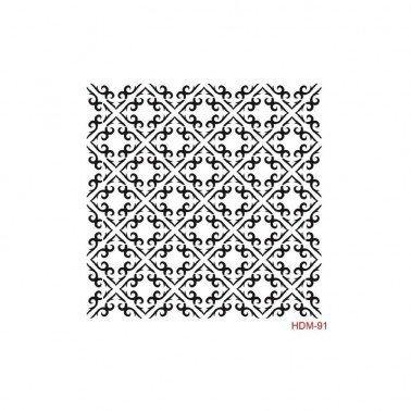 Plantilla Stencil BALDOSAS CADENCE 25x25 cm.