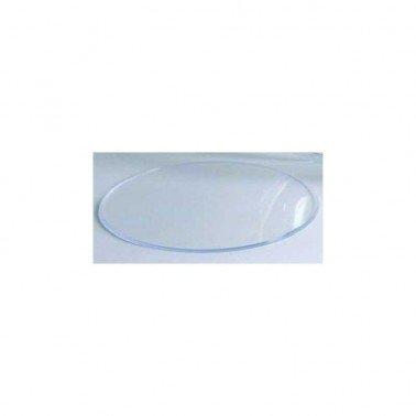 Separador bola de plástico transparente 60 mm.