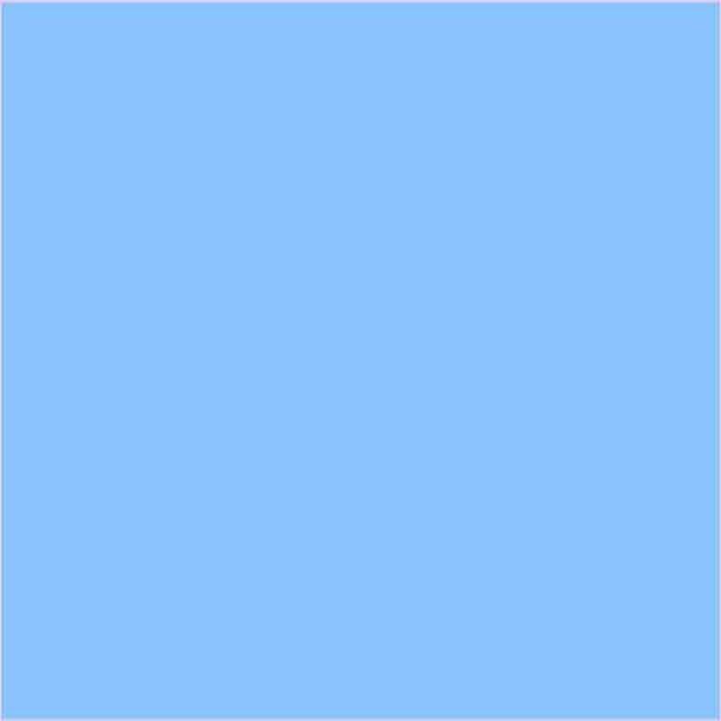 Goma eva azul cielo plancha 60 x 40 cm, grosor 2 mm.